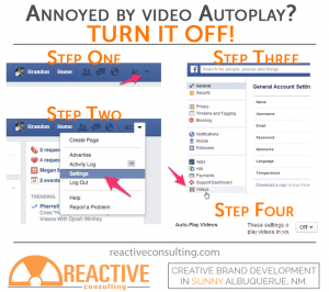 stop facebook video autoplay